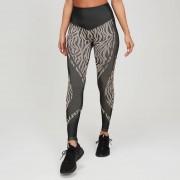 MP Animal Zebra Seamless Women's Leggings - Black/Praline - XS