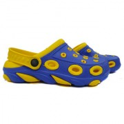 Crocs Yellow /Blue Comfortable Work Clogs Casual Wear Footwear Anti Slip