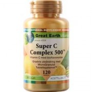 Great Earth Super C Complex 500 mg 120 tabletter
