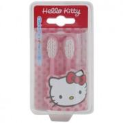 VitalCare Hello Kitty cabeças de substituição para escova de dentes com bateria sónica 2 pçs