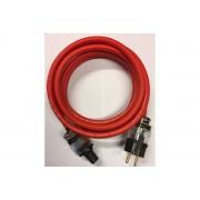 Ecosse Cables The Big Red EU UC ULTRA 2 meter Röd