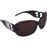 D&G Rectangular Sunglasses(Brown)