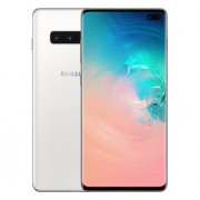 "Samsung Smartphone Samsung Galaxy S10 Plus Sm G975f 1 Tb Dual Sim 6.4"" 4g Lte Wifi 12 + 16 + 12 Mp Octa Core Refurbished Ceramic White"