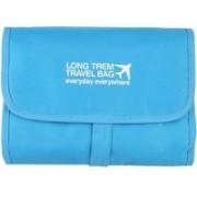 Xeekart Hanging Craft Cosmetic Organizer Bag - Make Up Bag / Toiletry Bag(Blue)