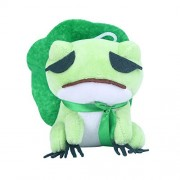 Apehuyuan Kawaii Plush Doll Toys Traveling Frog Plush Toy Cute Travel Frog Plush Figure Toys Wandering Frog Throw Pillow Stuffed Toy for Kids Adults