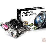 ASRock D1800B-ITX, Intel J1800 2.41GHz, 2xSO-DIMM DDR3, SATA2, 1xPCI-Ex, VGA/HDMI/USB3.0/serial/parallel, mini-ITX