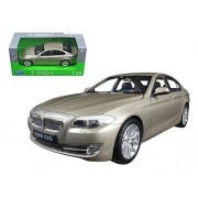 2010 Bmw (F10) 535i 5 Series Gold 1/24 By Welly 24026