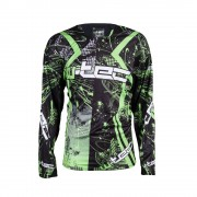 Motocross Felső W-TEC NF-5105 12166/fekete-zold