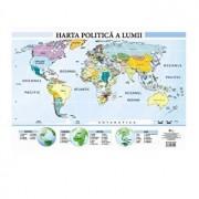 Harta politica a lumii - plansa A2/Colectiv Aramis