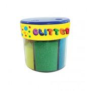 Pudra cu sclipici 6 culori neon DP Collection