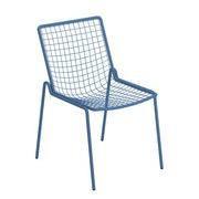EMU Chaise empilable Rio R50 / Métal - Emu bleu en métal