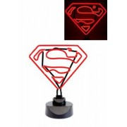 DC Comics Neon Light Superman Logo