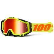 100percent Máscaras Racecraft Attack Yellow