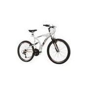 Bicicleta ARO 26 Modelo MTB XK-400 ALUM. FULL SUSP. 21V - Aro Aero - Track e Bikes