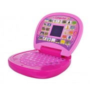 BabyGo Educational Learning Kids Laptop, LED Display, with Music Learn Numbers and Alphabets