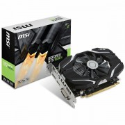 MSI Video Card GeForce GTX 1050 Ti OC GDDR5 4GB/128bit, 1341MHz/7008MHz, PCI-E 3.0 x16, DP, HDMI, DVI-D, Sleeve Fan Cooler Double Slot, Retail GTX_1050_TI_4G_OC