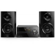 Microsistem muzical Philips BTM2560/12, 70 W, Radio, Bluetooth, Woofer, Display, Sistem de boxe Bass Reflex, Negru