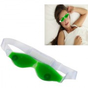 SPERO Aloe Vera Cold Eye Mask Ice Compress Green Gel Eye Fatigue Relief Cooling Eye Care Relaxation Eye Shield 1 Pcs