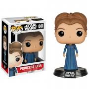 Pop! Vinyl Figura Pop! Vinyl Bobble Head Princesa Leia - Star Wars: Episodio VII