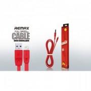 Kabl USB 2.0 2A na lightining M/M full speed crvena Remax, 2m