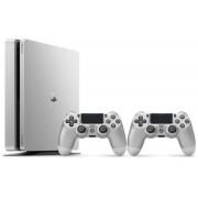 Sony PlayStation 4 Slim Silver + DualShock 500GB