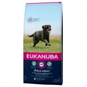 Eukanuba Active Adult razas grandes con pollo - 15 kg