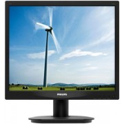 "Monitor LED Philips 17"" 17S4LSB/00, VGA, DVI-D, 5ms, SmartImage (Negru)"