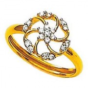 KIARA JEWELLERY CLASSIC BELT SHAPE RING KIR0097
