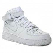 Обувки NIKE - Air Force 1 Mid '07 315123 111 Бял