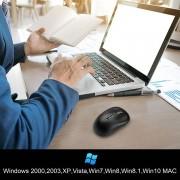 TeckNet M016 Wireless Mouse - ергономична безжична мишка (за Mac и PC)