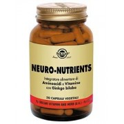 SOLGAR IT. MULTINUTRIENT SpA Neuro-Nutrients 30cps Vegetali