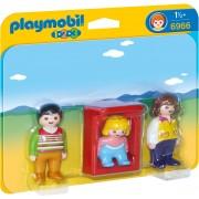 PLAYMOBIL - 1.2.3 PARINTI CU COPILAS (PM6966)