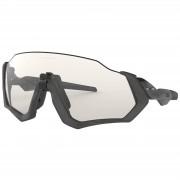 Oakley Flight Jacket Photochromic Sunglasses - Grey Ink/Clear Black
