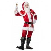 Merkloos Complete kerstmannen outfit 52 (L) - Carnavalskostuums