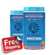 SunWarrior 2x SunWarrior blend Proteine berry - 2x 750 gram GRATIS VERZENDING