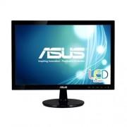 "Asustek ASUS VS197DE - Monitor LED - 18.5"" (18.5"" visível) - 1366 x 768 - 200 cd/m² - 5 ms - VGA - preto"