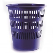 Papírkosár, 16 liter, DONAU, kék (D306K)