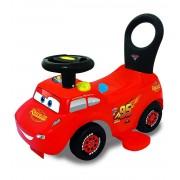 Masinuta Disney Cars – Fulger Mqueen 3 in 1 Ride-On cu sunete , lumini si pista