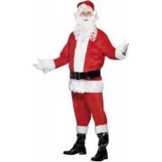 Smiffys Luxe kerstman kostuum van velours