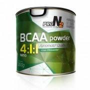 BCAA Powder 4:1:1 - 300g - Pronutrition ProN2 - Unissex