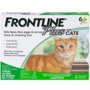 Frontline Plus 6pk Cats Kittens by MERIAL