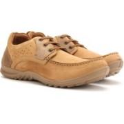 Woodland Men Outdoor Shoes For Men(Beige)