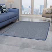 vidaXL kék tűzött szőnyeg 80 x 150 cm