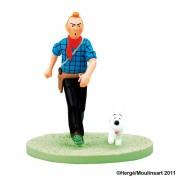 Coffret Scene Tintin Cow-Boy