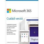 Microsoft 365 Családi verzió (elektronikus licenc)