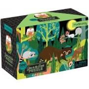 Mudpuppy Glow in Dark Puzzle/In the Forest