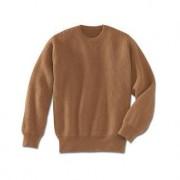 Camel Hair Pullover, 38 - Natural camel shade