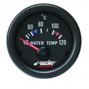 Manometro Temperatura Acqua Simoni Racing - 52 mm Nero