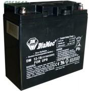 DIAMEC 12V 18Ah akkumulátor