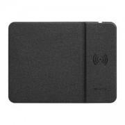 Подложка за мишка с безжично зареждане Canyon Wireless Charging Mouse Pad (324x244 mm), черен, CNS-CMPW4